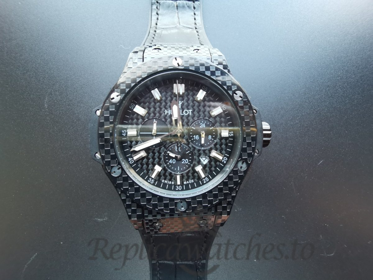 Hublot Big Bang 301.Qx.1740.Gr 44 Mm Scratch Black Dial Resistant Sapphire For Men Watch