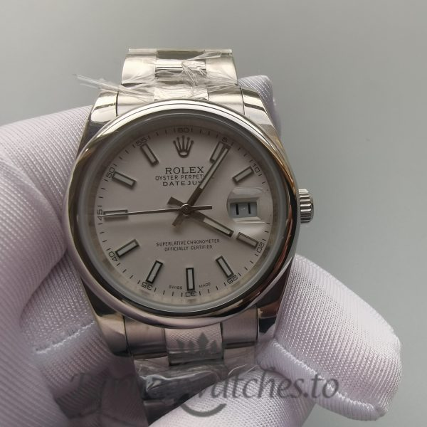 Rolex Datejust 126200 Stainless Steel 36 Mm For Men Watch
