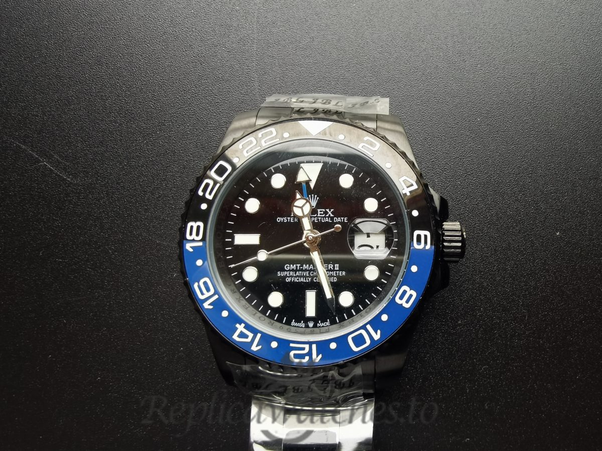 Rolex Gmt-Master 116710 40 Mm Oyster Black Dial For Men Watch