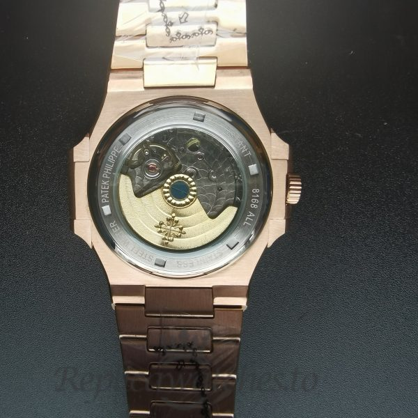 Patek Philippe Nautilus 57111r-001 Yellow Gold And Dark Brown 40mm For Men Watch