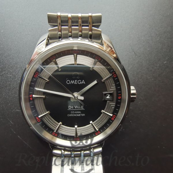 Omega De Ville 431.30.41.21.01.001 41mm Black Dial And Stainless Steel For Men Watch