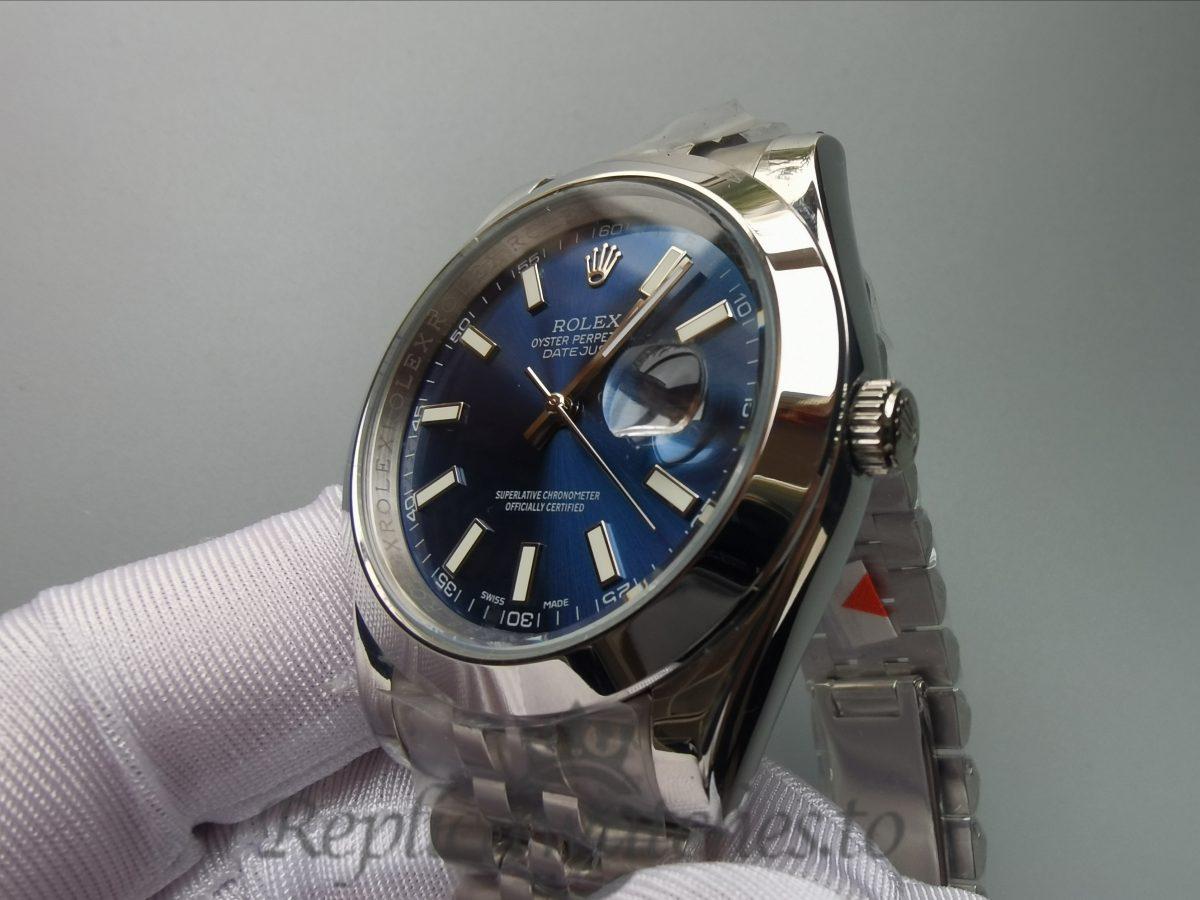 Rolex Datejust 126300 41mm Blue Dial Stainless Steel Jubilee For Men Watch