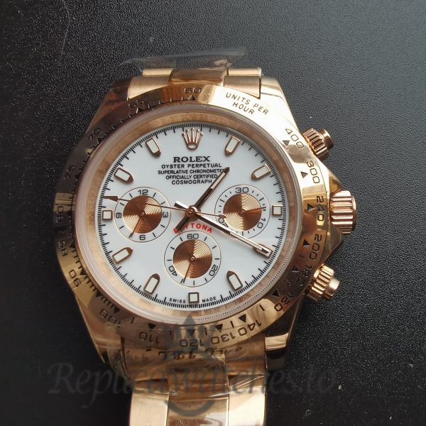 Rolex Daytona 116505 18k Everose Gold Rolex Oyste 40mm For Men Watch
