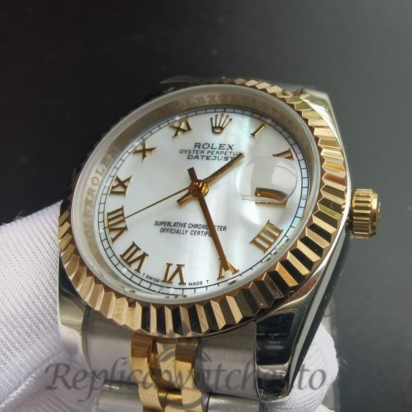 Rolex Datejust 116233 Stainless Steel And White 36mm For Men Watch