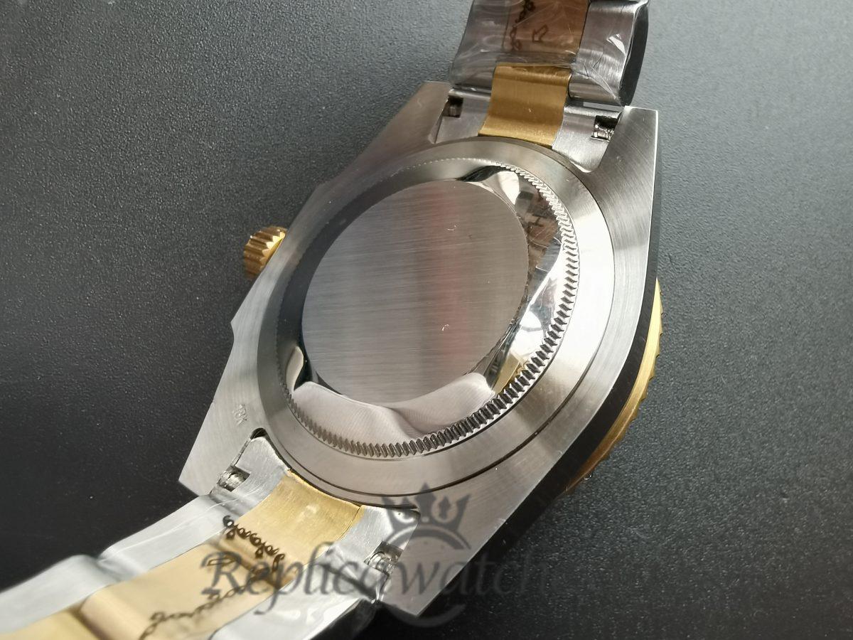 Rolex Submariner 40mm 16613 18k Yellow Gold Bezel Blue Dial For Men Watch
