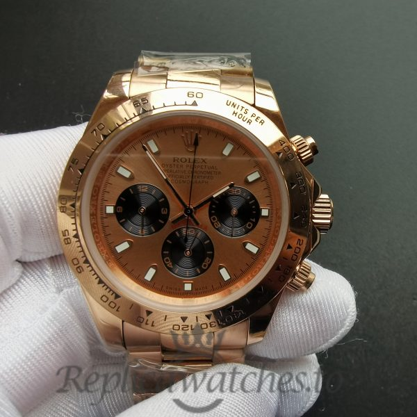 Rolex Daytona 116505 40mm 18kt Everose Gold And Pink Dial For Men Watch