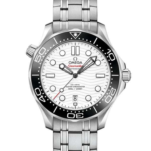 Omega Seamaster 210.30.42.20.04.001 Stainless Steel White Dial For Men 42mm Watch
