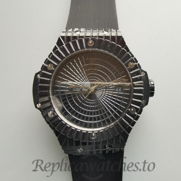 Hublot Big Bang Black Ceramic And Black Dial 41mm For Men Watch