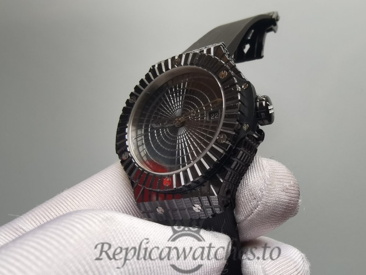 Hublot Big Bang Black Ceramic And Black Dial 41mm For Men Watch