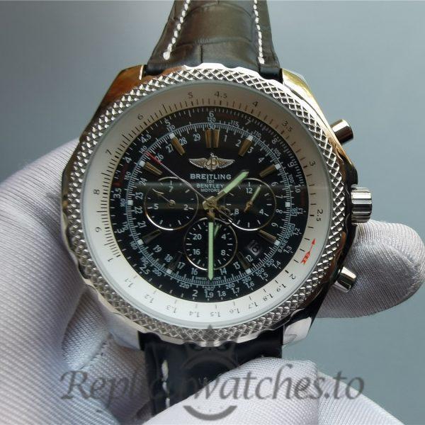 Breitling Bentley 49mm Stainless Steel Grey Dial For Men Watch