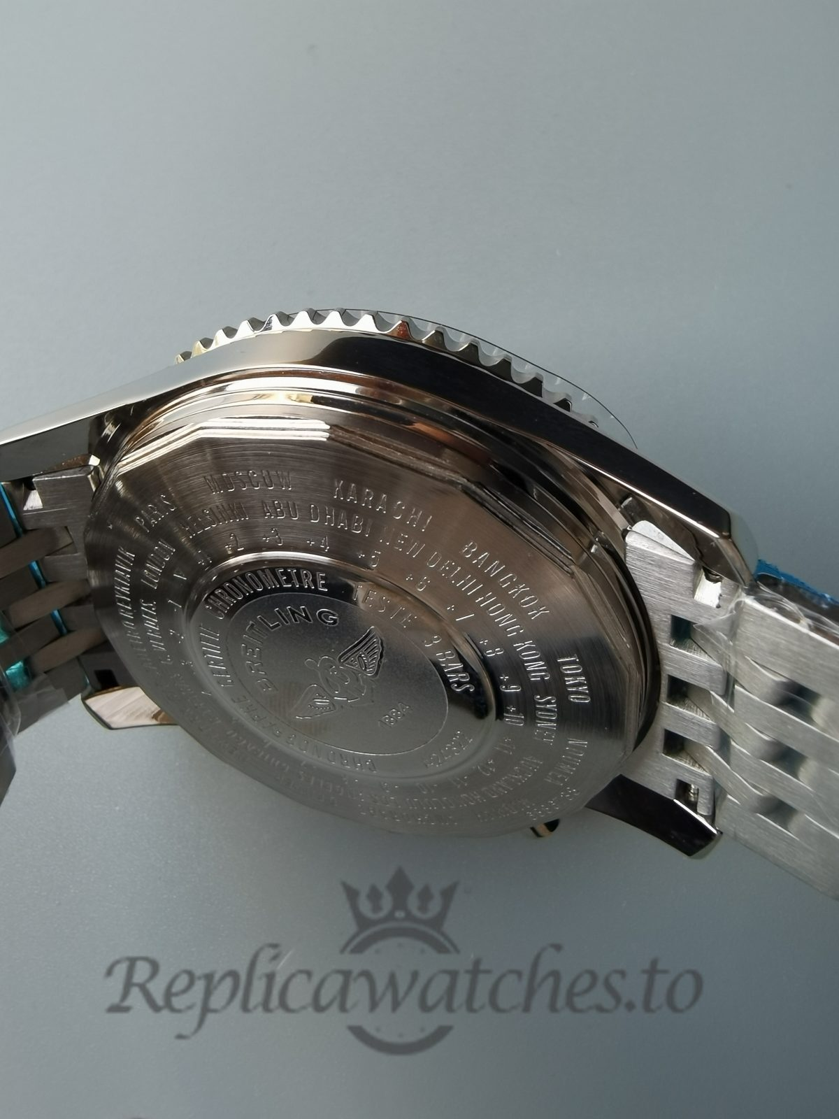 Breitling Navitimer 46mm Stainless Steel Black Dial For Men Watch