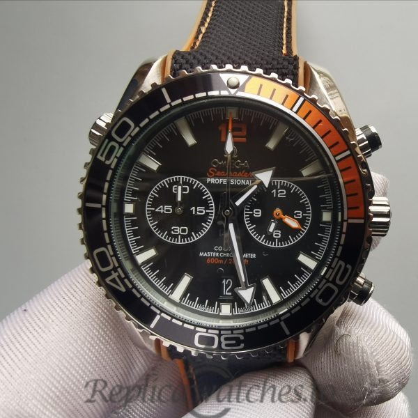 Omega Seamaste 215.32.46.51.01.001 45.5mm 316 Grade Stainless Steel Black For Men Watch