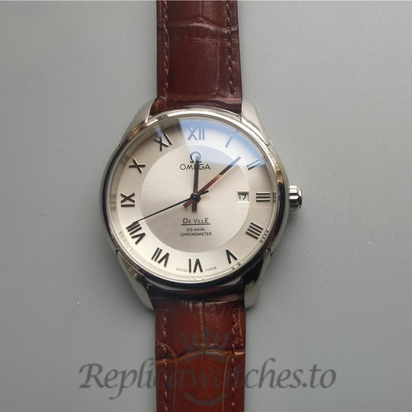 Omega De Ville 433.13.41.21.02.001 Stainless Steel And Silver For Men Watch