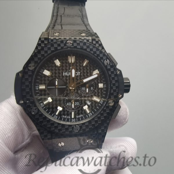 Hublot Big Bang 301.Qx.1740.Gr Carbon-fiber And Black Dial For Men Watch