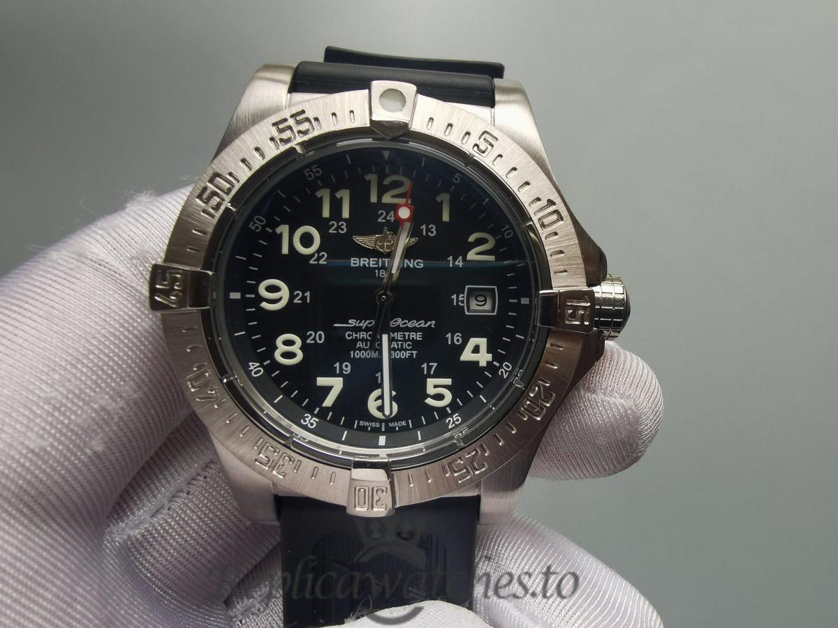 Breitling Avenger Seawolf E17370 44mm Titanium And Black Dial For Men Watch