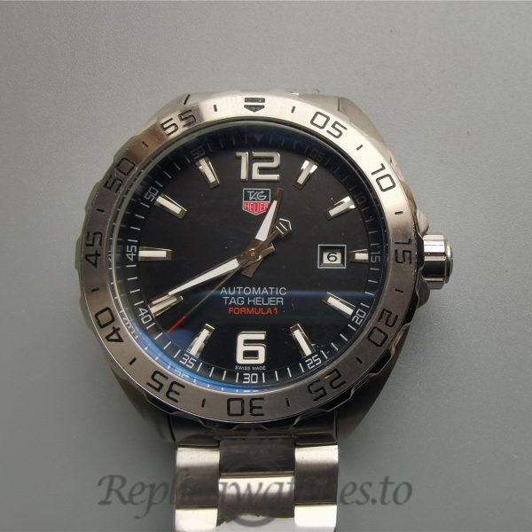 Tag Heuer Formula1 Waz1112.Ba0875 41mm Silver And Black Dial For Men Watch